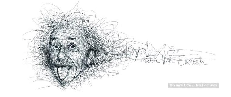 La dislexia no limitó a Einstein