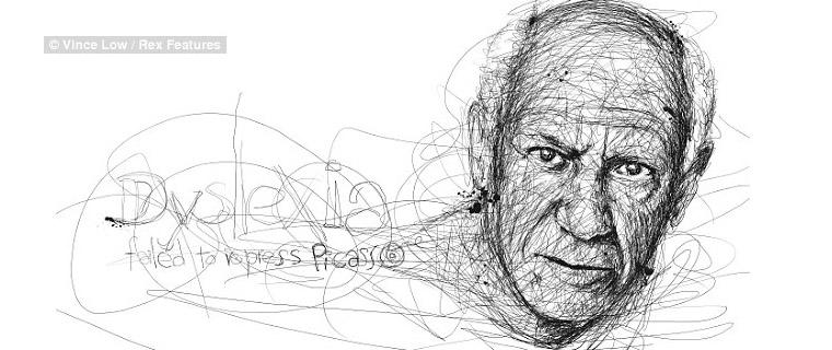La dislexia no pudo reprimir a Picasso