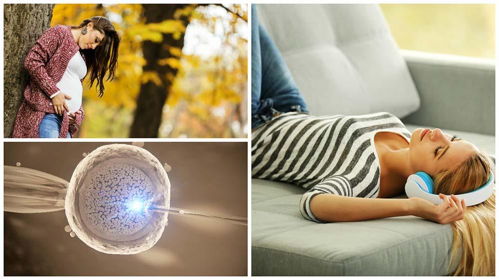 Para favorecer el embarazo, se recomienda evitar el estrés más que guardar reposo después la fecundación.