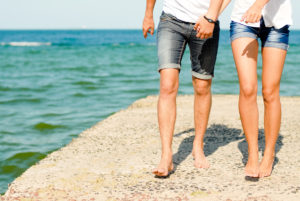 Caminar es una buena forma de prevenir varices