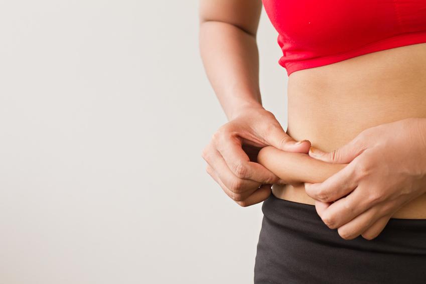 Grasa en el abdomen