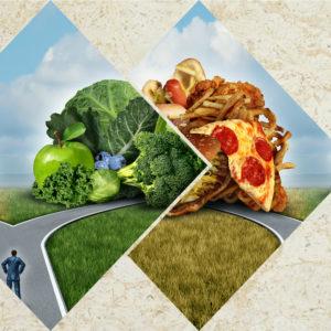Una alimentación adecuada ayuda a bajar el colesterol.
