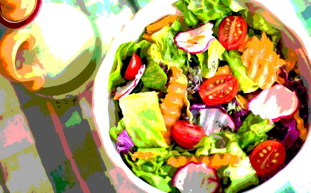 Una ensalada variada es de los más completos alimentos para bajar la diabetes
