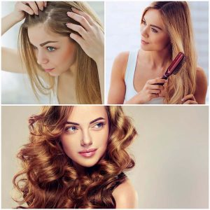 Determinados cambios hormonales pueden provocar la caída del pelo en la mujer.