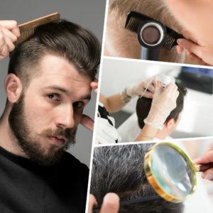 Injerto de pelo con técnica FUSS