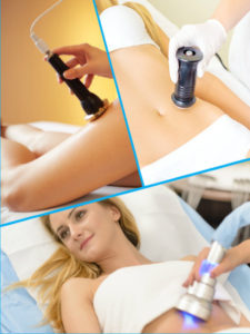 La aplicación de ultrasonidos en la cavitación facilita la destrucción del tejido graso subcutáneo.