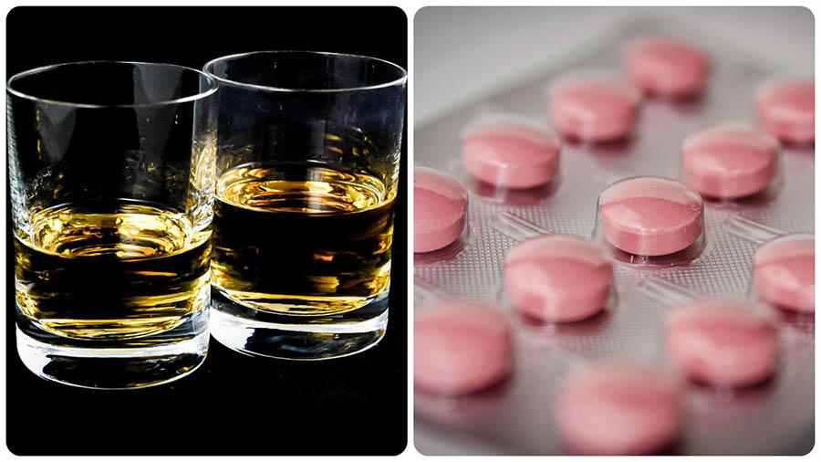 mezcla alprazolam alcohol