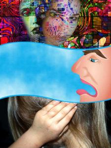 Uno de los más característicos síntomas de la afasia es la dificultad a la hora de expresarse.