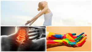 Los enfermos de artrosis de cuello experimentan cierta pérdida de fuerza en las manos y brazos.