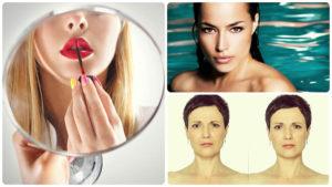 El botox en los labios da como resultado una boca más sensual.