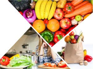 Frutas y verduras son fundamentales para entorpecer la negativa relación entre caída del cabello y alimentación.