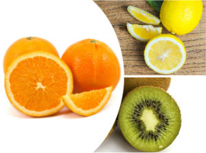 Las frutas con un alto contenido en vitamina C son muy recomendables para frenar la caída del cabello.