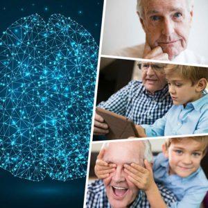 Llevar una dieta sana y una vida social activa, ayuda a prevenir el Alzheimer.