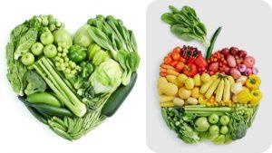 Los vegetales son los mejores alimentos para subir las plaquetas.