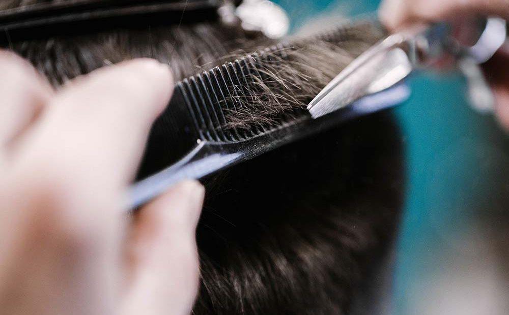 crecimiento del pelo injertado