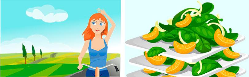 La liposucción con obesidad no es aconsejable, sino que se debe hacer deporte y seguir una alimentación variada.