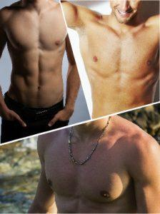 La eliminación de grasa en el tórax masculino arroja buenos resultados.