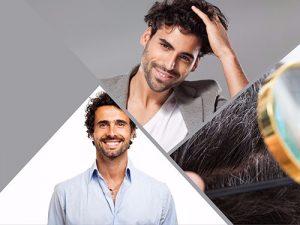 No se recomienda hacer un injerto de pelo de otras partes del cuerpo.