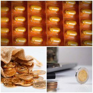 El precio de este fármaco depende, entre otras cosas, de si se trata de Naproxeno convencional o sódico.