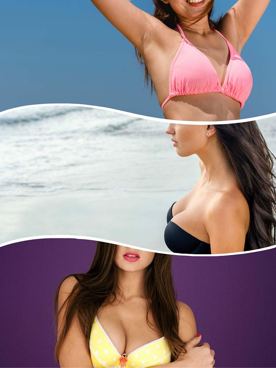 Un estudio que recoge la opinión sobre el aumento de senos de las mujeres, señala que una de cada tres no se siente a gusto con su pecho.