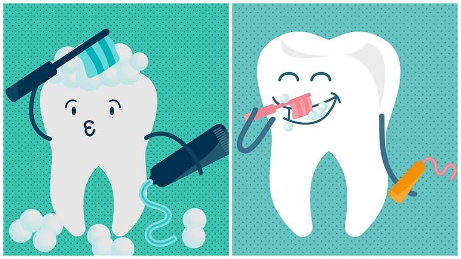 Es muy importante cuidar la salud de los dientes durante el tratamiento con invisalign en Barcelona.