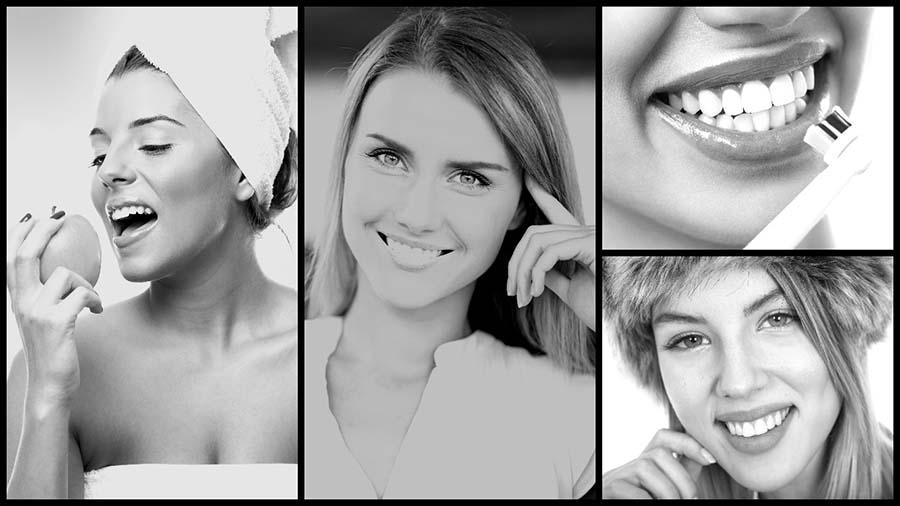 El blanqueamiento dental en casa tiene pocos efectos secundarios.