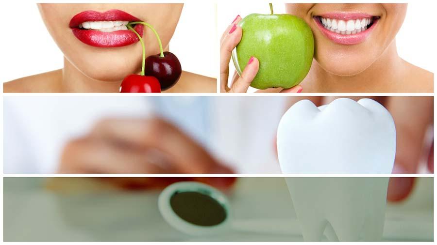 Hay ciertos alimentos que pueden oscurecer el esmalte de los dientes.