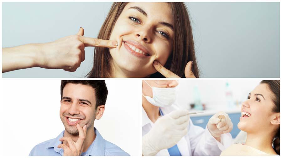 Antes y después del tratamiento, es conveniente evitar alimentos que puedan manchar los dientes.