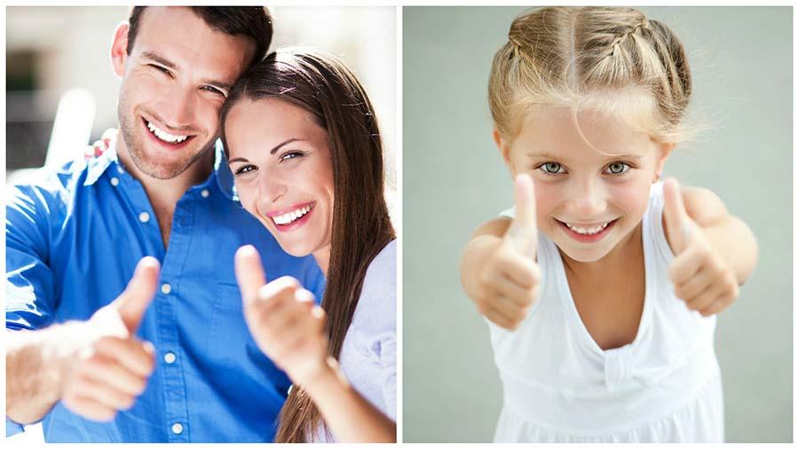 Tanto niños como adultos pueden beneficiarse de la ortodoncia con brackets en Palma de Mallorca..