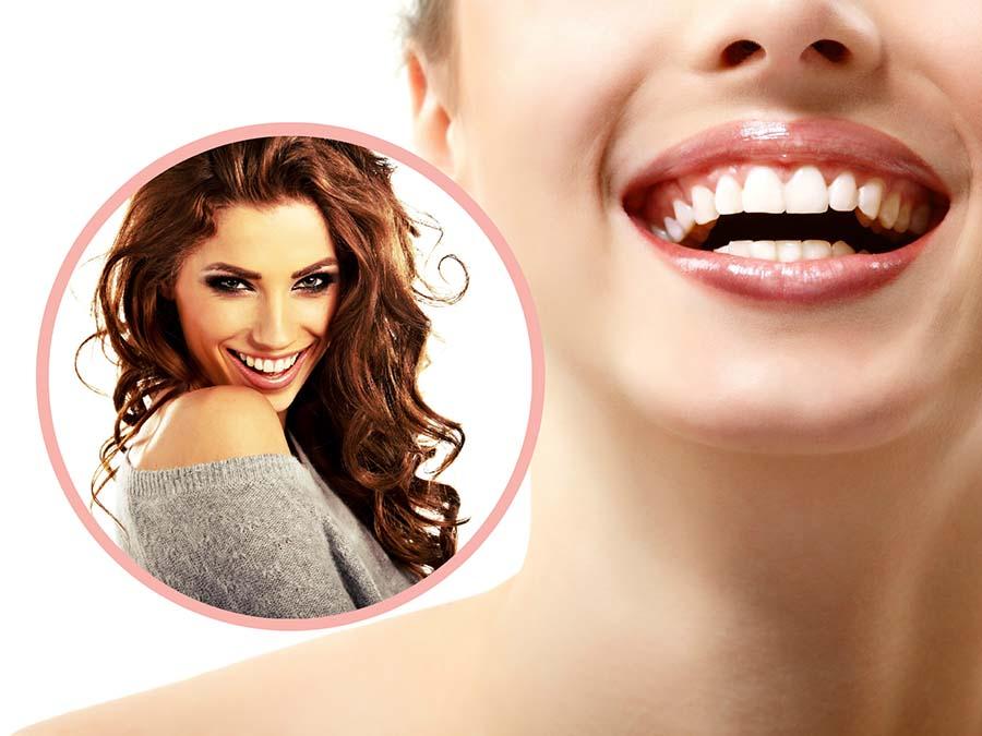Los implantes no alteran a los dientes de alrededor y tienen un aspecto natural.