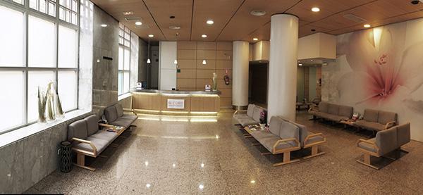 Instalaciones de la Clínica Oftalmológica Coro en Madrid.