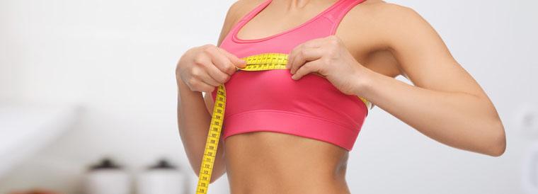 Las prótesis de mama permiten aumentar la talla de sujetador