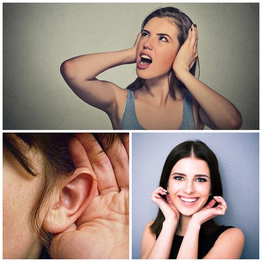 Las cicatrices resultantes de la otoplastia en A Coruña quedan ocultas detrás de la oreja.