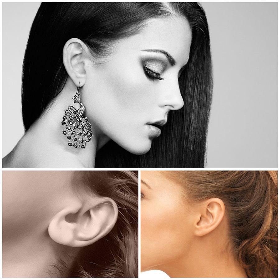 Algunos de los pacientes que acuden a la cirugía de orejas en Alicante lo hacen para corregir algún daño causado por los piercings.