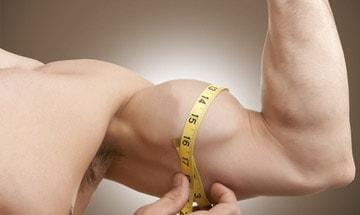 Aumento del brazo (bíceps y tríceps) en Córdoba