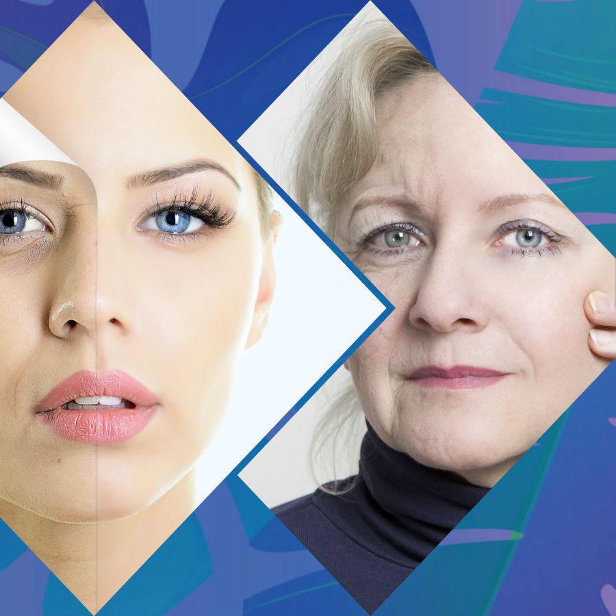 Entre otros efectos, el ácido hialurónico contribuye a hidratar la piel.