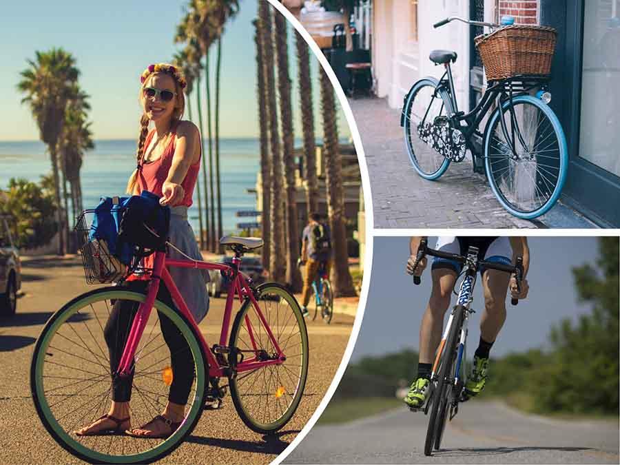 Montar en bicicleta es una de las actividades físicas más recomendadas para la artrosis.