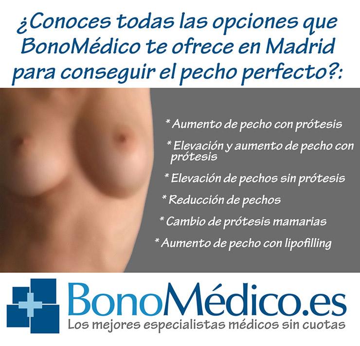 Cirugía mamaria en Bonomédico