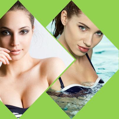 Los implantes de mama se colocan o bien por encima o bien por debajo del músculo pectoral de la paciente sometida a cirugía.