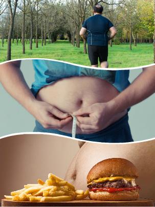 Se recomienda intentar reducir su peso mediante el deporte o una dieta saludable y equilibrada, antes de someterse a cualquier tratamiento.