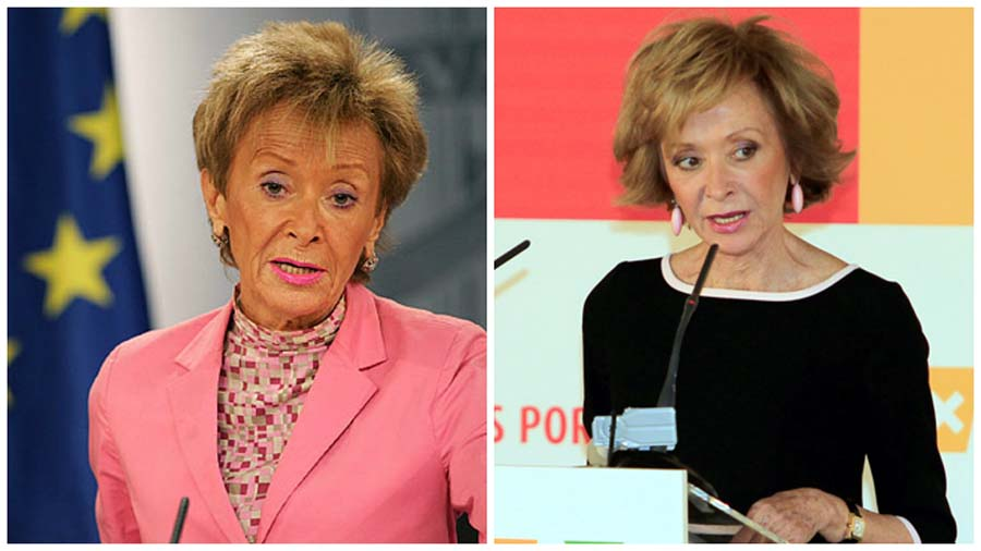 La exvicepresidenta María Teresa Fernández de la Vega ha pasado por varias intervenciones, entre ellas una cirugía de párpados.