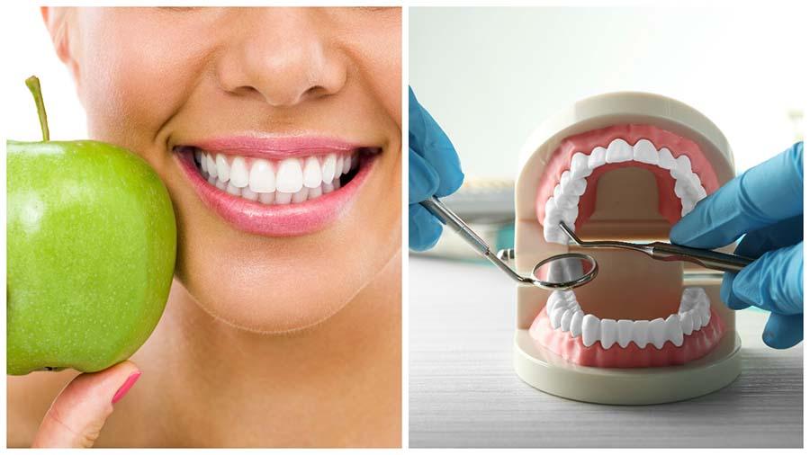 Cepillarse los dientes es muy importante para mantener los implantes dentales en Huelva.