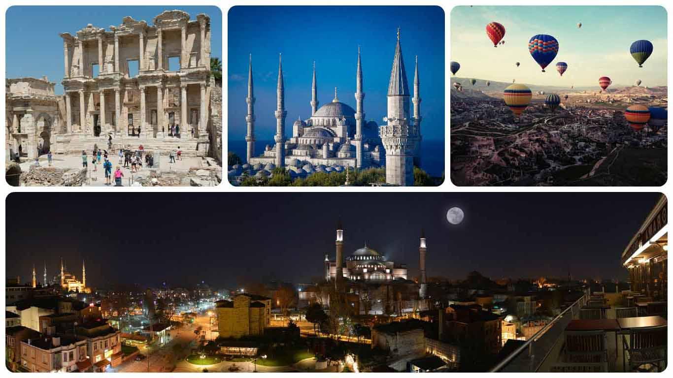Se puede aprovechar los días de estancia en Estambul para hacer una visita turística en la ciudad.