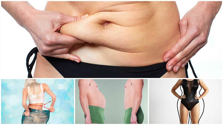 Existen diferentes tipos de liposucción, que se pueden realizar en diferentes partes del cuerpo.