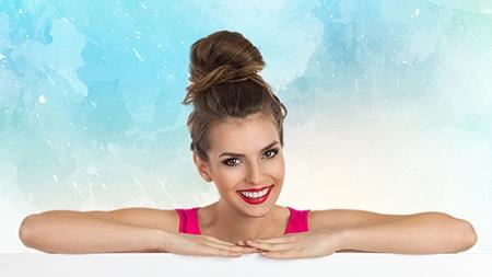 La ortodoncia ayuda a conseguir una sonrisa más bonita.
