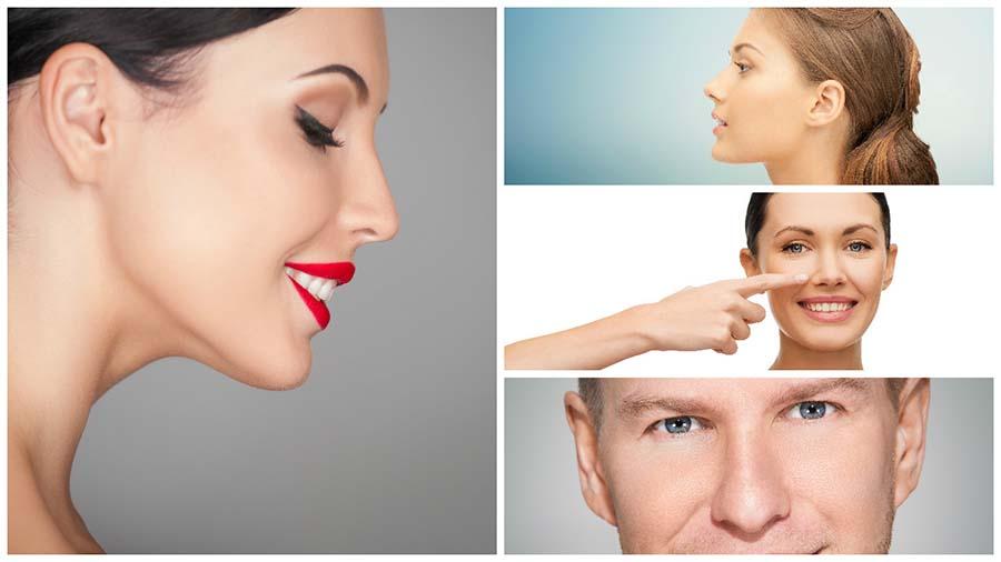Son diferentes los defectos nasales que pueden corregirse gracias a una cirugía de este tipo.