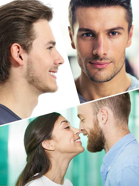 La rinoplastia para hombres persigue unos resultados estéticos diferentes.