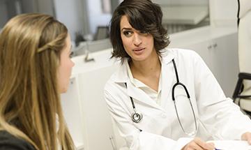 Consulta con el ginecólogo en Clínica Doctor Palomo