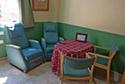 Sala de Estar en una residencia de ancianos en Girona